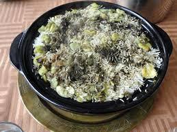 cuisine iranienne recette d agneau au riz et à l aneth recette iranienne