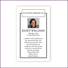 memorial cards for funeral memorial cards from sprinter memorial cards keepsakes of your