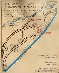 Chandler Arizona Map by Park Of The Canals Mesa Arizona Ancient Hohokam Ruins Travels