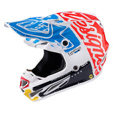 carbon fiber motocross helmets troy lee designs 2017 se4 carbon factory mx helmet available at