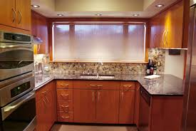Granite Countertops With Cherry Cabinets Kitchen Room Dark Wood Cabinets Kitchen With Wood Floor White
