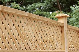Wooden Trellis Panels Trellis Panel Fencing Installations In Fordwich