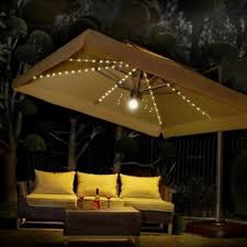 nice patio bar with umbrella lights patio design ideas 4769