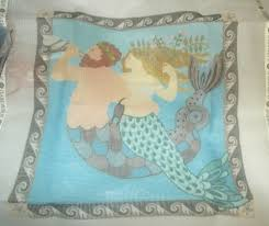 Claire Murray Washable Rugs by Rare Claire Murray Mermaids Nantucket Bride Needlepoint Pillow Kit