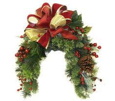 Christmas Mailbox Decoration Greenery by Wreaths Decorative Door Wreaths Christmas Pinterest Door