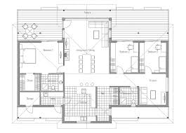 modern open floor plans modern house plan with vaulted ceiling open living area bedroom
