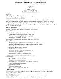 resume format for data analyst cover letter resume for data entry resume for data entry operator cover letter resume template data entry clerk objective short for sample resume supervisor clerkresume for data