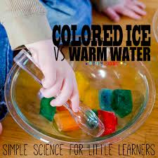 colored ice transfer activity busy toddler