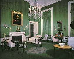 white house rooms red green monroe treaty state dining room