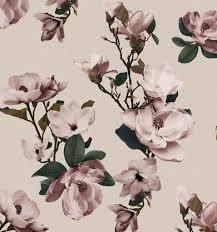 Magnolia Wallpaper Wallpaper Magnolia Mural Drop It Modern