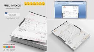 15 modelos de fatura simples feito para o microsoft word