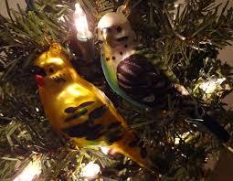 budgie ornaments