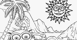 free printable minion coloring pages kids desktop