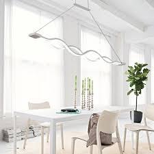 Esszimmerlampe H Enverstellbar Kjlars Led Pendelleuchte Esstisch Hängeleuchte Wohnzimmer Küche