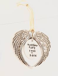 memorial wing ornament name it already
