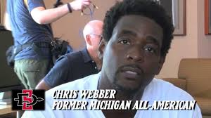 name of chris webber s haircut sdsu men s hoops chris webber visits coach fisher 8 21 13 youtube