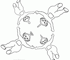 76 teletubbies coloring pages printable games teletubbies