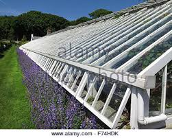 the glass house at glenarm castle walled garden northern ireland