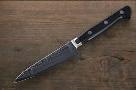 iwai vg10 damascus petty japanese chef knife 105mm japanny
