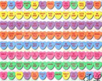 sweetheart candy sayings heart candy sayings s day info