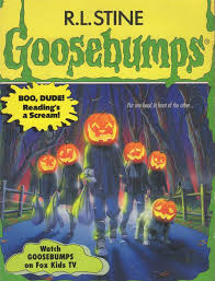 what we think every goosebumps book is about based on the cover