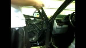 bmw e46 door mirror diy removal tutorial oem youtube