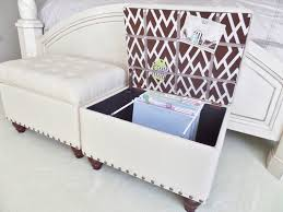 file storage ottoman inserts multifunction feature in stylish look