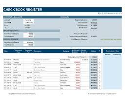 37 checkbook register templates 100 free printable template lab