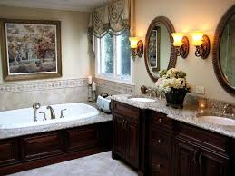 Decorating Ideas For Master Bathrooms The Layout Of This Master Bathroom Especially The Mirrors