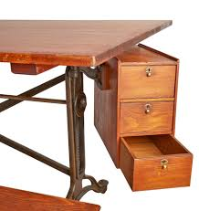 Drafting Table Computer Desk by Exceptional Keuffel U0026 Esser Drafting Table W Swinging Cabinet