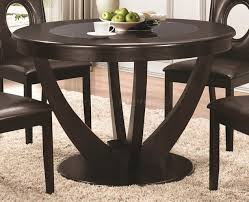 106741 dining set 5pc in cappuccino by coaster