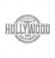 California Travel Stickers images Hollywood california linear emblem design for t shirts travel