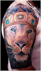 adorable lion king style tattoo on arm tattoomagz
