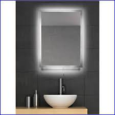 backlit bathroom mirror home design ideas
