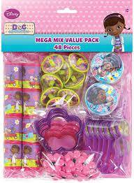 doc mcstuffins party disney junior doc mcstuffins party favor value pack