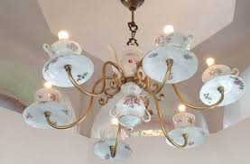 Repurposing Old Chandeliers 20 Inspiring Ideas Of How To Reuse Teacups And Teapots