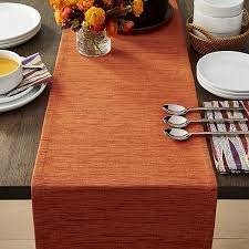crate and barrel table runner grasscloth 90 orange table runner reviews crate and barrel
