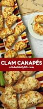 clam canapés recipe