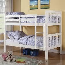 Harriet Bee Isiah Twin Over Twin Bunk Bed  Reviews Wayfairca - Twin over twin bunk beds