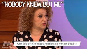 nadia sawalha nearly ended marriage when she ordered alcoholic