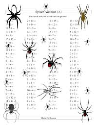 spider addition facts to 30 a