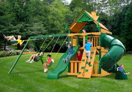 Lowes Swing Outdoors Fabulous Design Of Gorilla Swing Sets For Kids