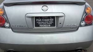 nissan altima for sale san diego 2002 nissan altima 3 5se silver fish creek nissan youtube