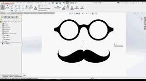 convert or trace your images into sketches in solidworks using