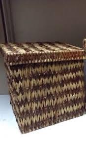 Seagrass Bathroom Storage Jute Seagrass Bathroom Storage Organizer Basket Lid Light