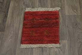 Tribal Persian Rugs by Tribal Handmade Tiny Red Modern Gabbeh Persian Rug Oriental Area