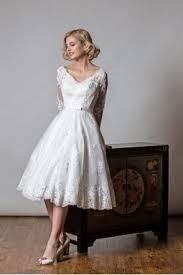 1116 Best Vintage Wedding Dresses Images On Pinterest Vintage 1062 Emily Tea Length Vintage Inspired Gold Lace Short Wedding Gown