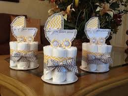 Best 25 Mini Diaper Cakes Ideas On Pinterest Diaper Centerpiece