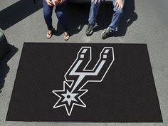 Rugs San Antonio Area Rug 4x6 San Antonio Spurs More Tailgating Gear Ideas