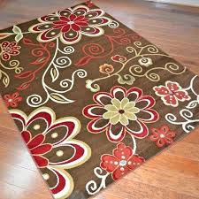 Modern Floral Rugs Floral Area Rugs Reputable Tropical Floral Area Rug All About Rugs
